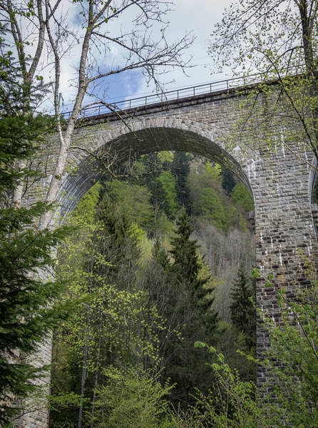Wall Art - Photograph - Ravenna Gorge Viaduct 05 by Teresa Mucha
