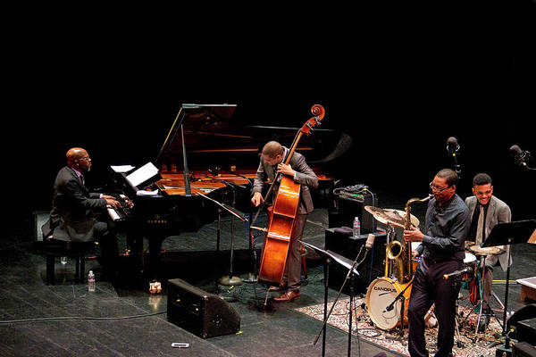 Photograph - Ravi Coltrane With The Orrin Evans Trio 14 by Lee Santa