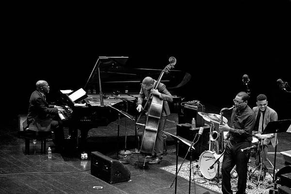 Photograph - Ravi Coltrane With The Orrin Evans Trio 15 by Lee Santa