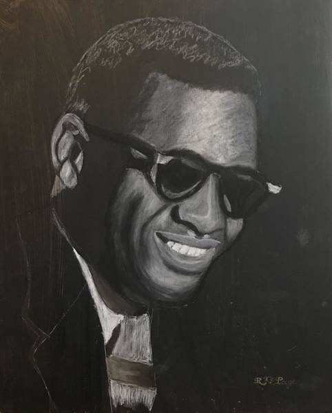 Pastel - Ray Charles by Richard Le Page