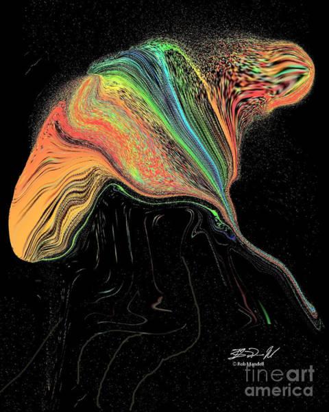 Digital Art - Ray by Rob Mandell