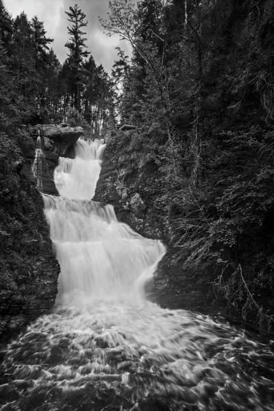 Photograph - Raymondskill Waterfalls Bw by Susan Candelario
