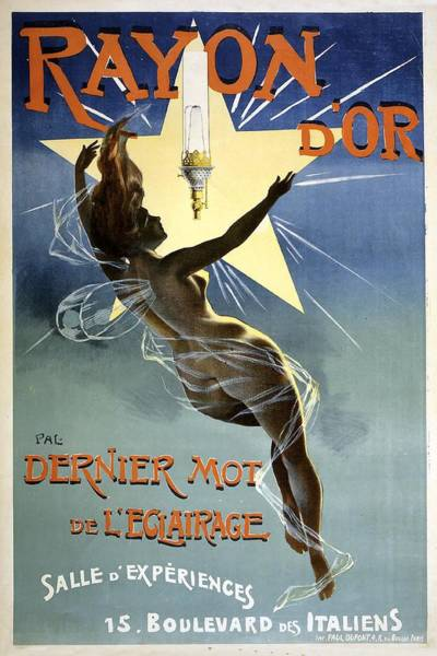 Painting - Rayon D'or Circus Vintage French Advertising by Vintage French Advertising