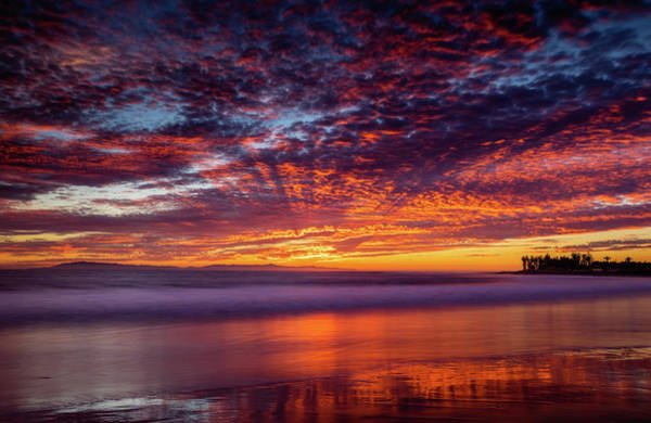 Ventura Photograph - Rays And Reflection by Dan Holmes