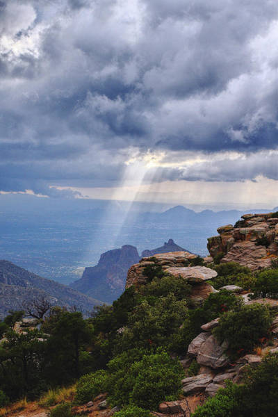 Photograph - Rays At Windy Point by Chance Kafka
