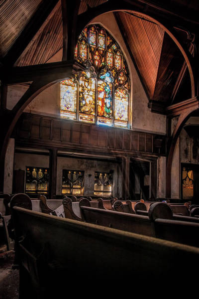 Photograph - Rays Of Light Within The Sanctuary by Kristia Adams