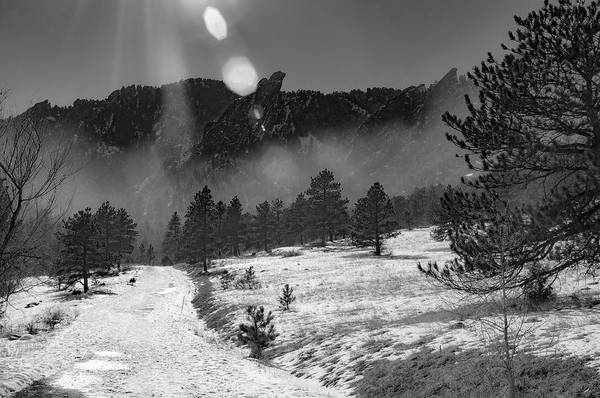 Photograph - Rays On The Mountain by Dan Urban
