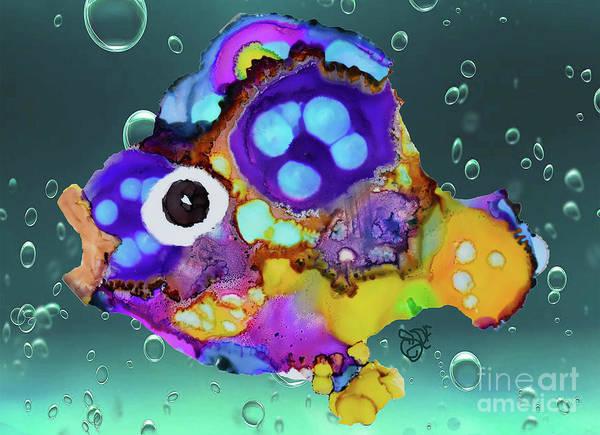Painting - Razzle Dazzle Fish by Christine Dekkers