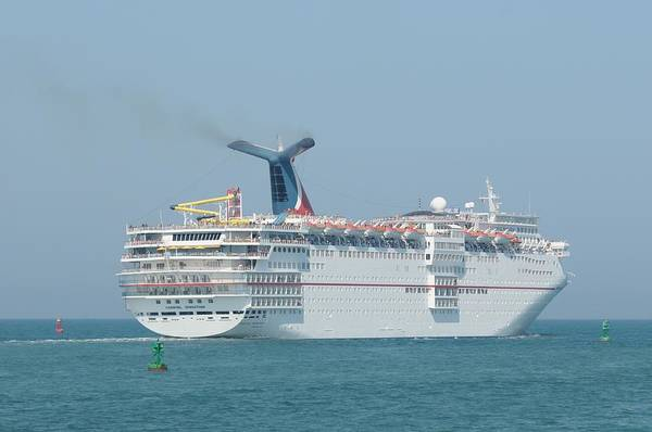 Photograph - Rcl's Monarch Of The Seas by Bradford Martin