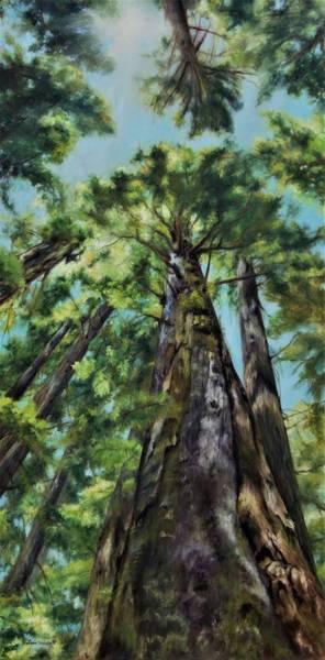 Painting - Reaching For The Light by Lori Brackett