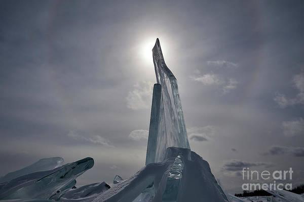 22 Degree Halo Wall Art - Photograph - Reaching by Matt Rohlader
