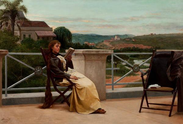 Painting - Reading by Almeida Junior
