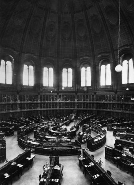 Photograph - Reading Room by Herbert Felton