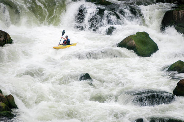 Wall Art - Photograph - Reading The Rapids by Todd Henson