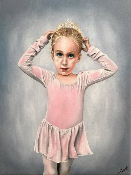 Painting - Ready For Dance Class II - Painting by Ashley Koebrick Schmidt