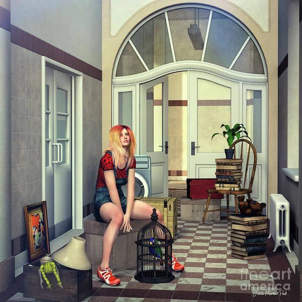 Digital Art - Ready For The Move by Jutta Maria Pusl