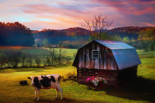 Wall Art - Photograph - Ready To Greet The Morning Painting by Debra and Dave Vanderlaan