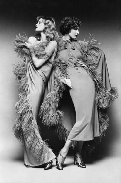 Fashion Model Photograph - Ready To Wear by Keystone