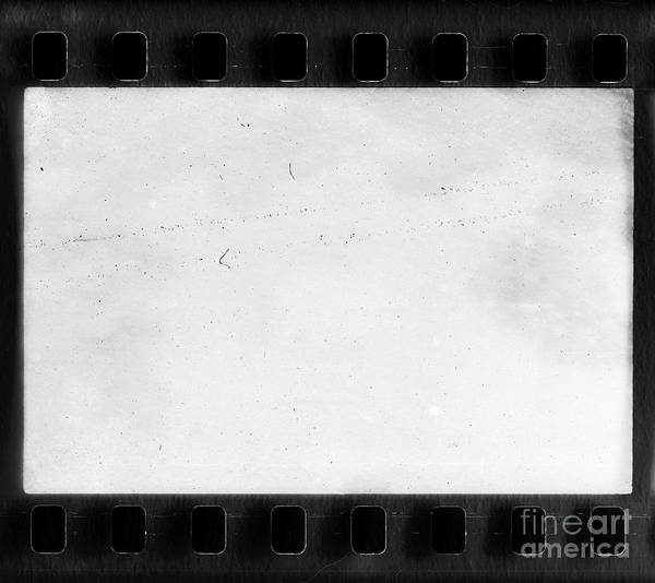Wall Art - Photograph - Real Film Frame With Dust And Scratches by Michal Boubin