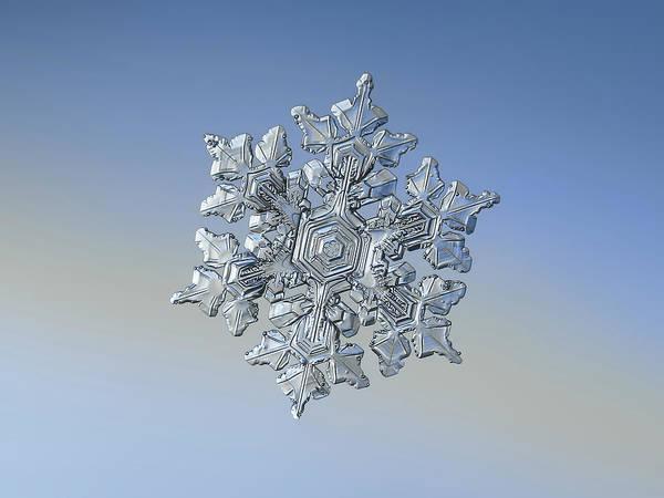 Photograph - Real Snowflake - 05-feb-2018 - 17 by Alexey Kljatov