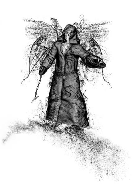 Mixed Media - Reaper by Bob Orsillo