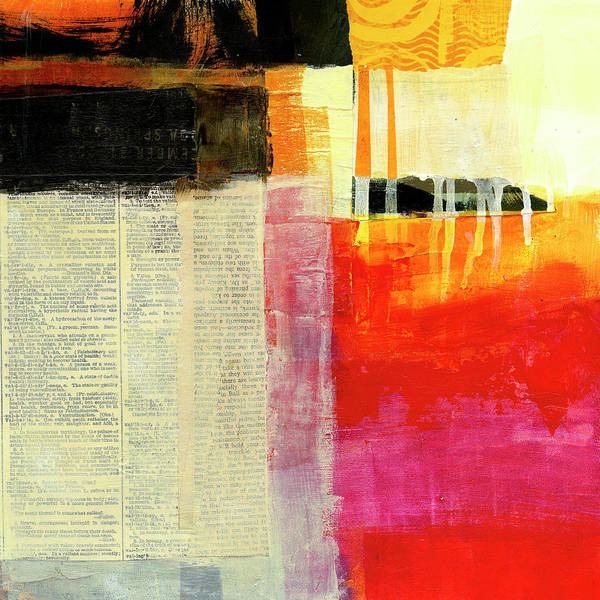 Wall Art - Painting - Rearranging The Facts by Jane Davies