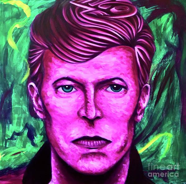 Iggy Pop Painting - Rebel Rebel by Adam Campbell