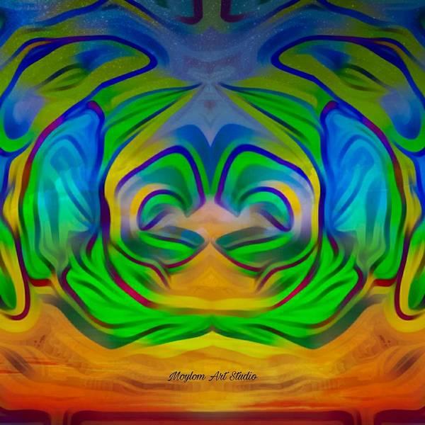 Digital Art - Rebirth 22 by Moylom Art Studio