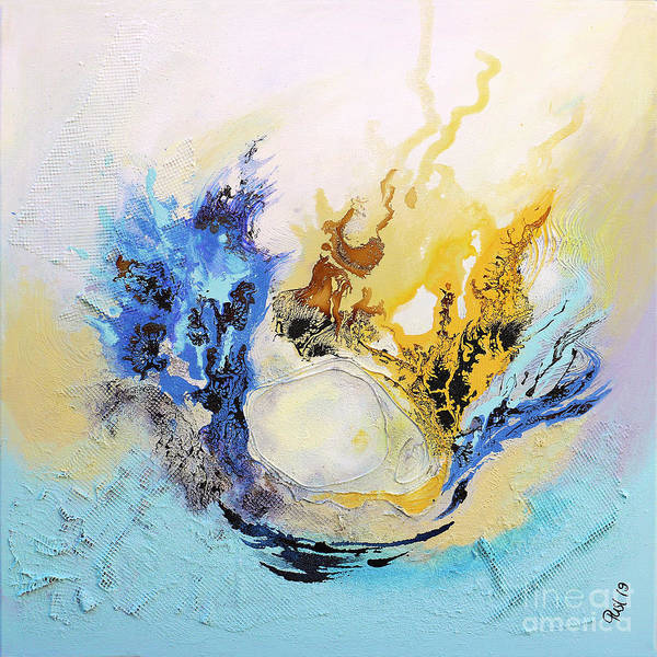 Painting - Rebirth by Jutta Maria Pusl