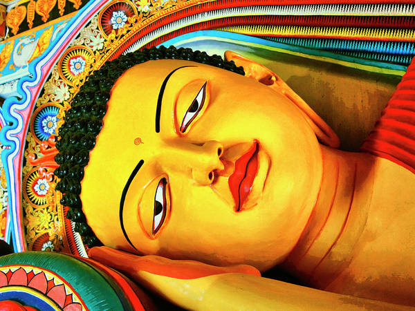 Wall Art - Photograph - Reclining Buddha by Dominic Piperata