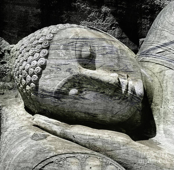 Photograph - Reclining Buddha by Granger