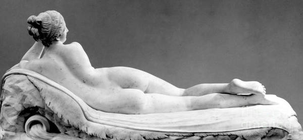 Wall Art - Sculpture - Reclining Naiad by Antonio Canova