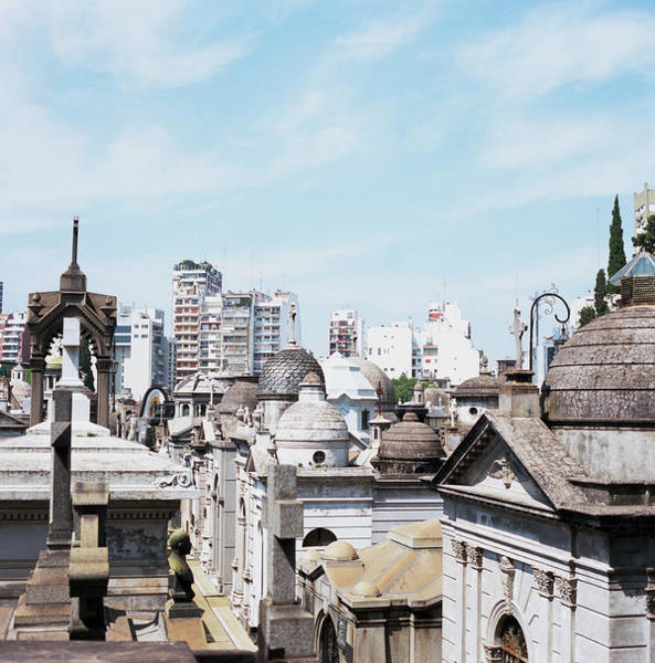 Wall Art - Photograph - Recoleta Cemetery, Buenos Aires by Aaron Mccoy