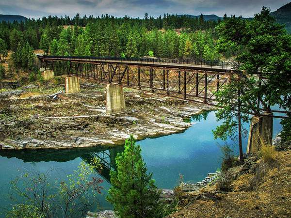 Photograph - Recreation Bridge by David Heilman