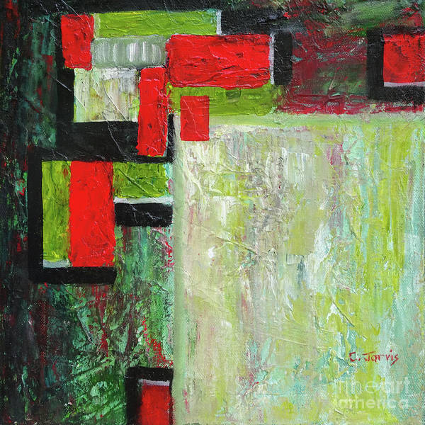 Painting - Rectangles Revisited by Carolyn Jarvis