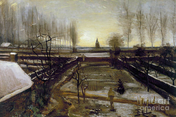 Wall Art - Painting - Rectory At Nuenen by Vincent Van Gogh