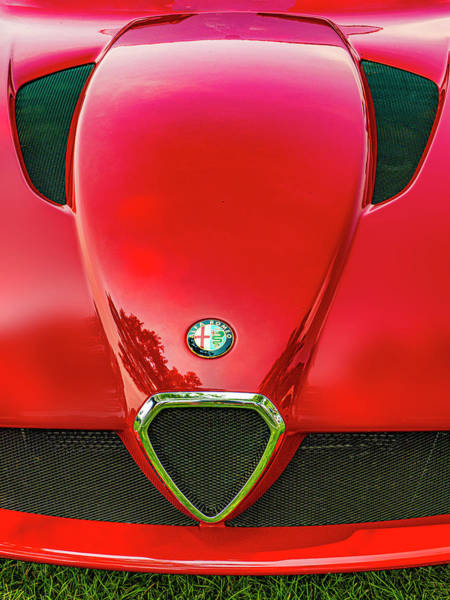 Wall Art - Photograph - Red Alfa Romeo by Paul Wear