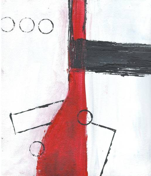 Painting - Red And Black Study 2 by Christine Chin-Fook
