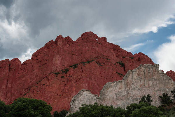 Wall Art - Photograph - Red And White Sandstone by Michael Hills
