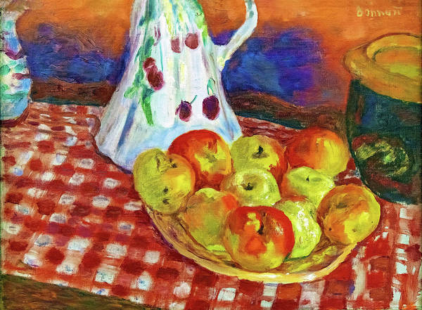 Wall Art - Painting - Red And Yellow Apples - Digital Remastered Edition by Pierre Bonnard