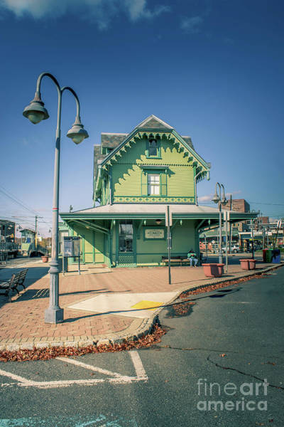 Wall Art - Photograph - Red Bank Historic Station House by Colleen Kammerer