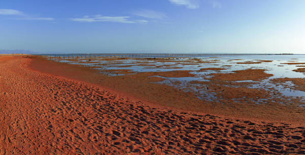 Photograph - Red Beach by Sun Travels