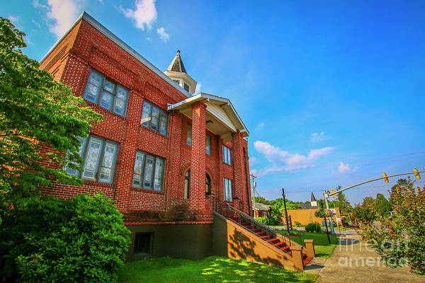 Photograph - Red Brick Church by Tom Claud