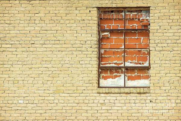 Photograph - Red Brick Window  by Imagery by Charly