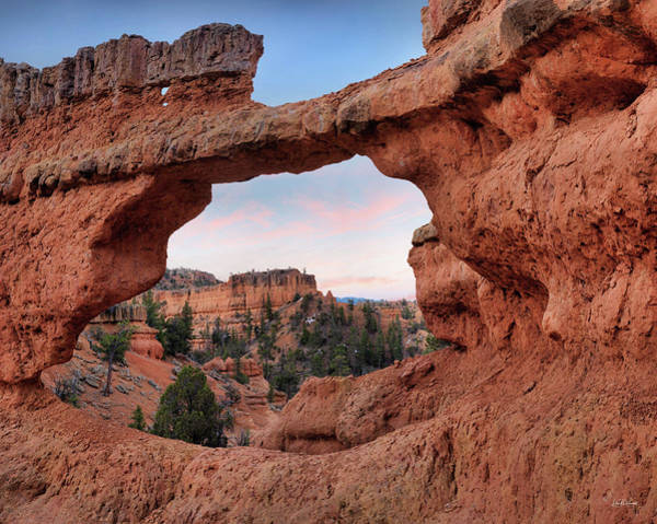 Photograph - Red Canyon Arch by Leland D Howard