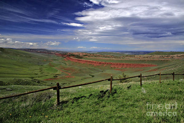 Photograph - Red Canyon Wyoming by Richard Lynch