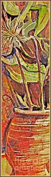 Wall Art - Painting - Red Clay Still Life by Mindy Newman