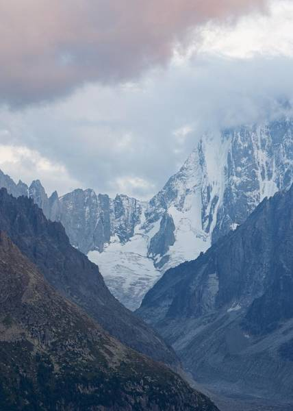 Photograph - Red Cloud Above Mer De Glace by Stephen Taylor