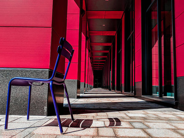 Photograph - Red Corridor by Christopher Brown