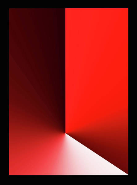 Wall Art - Digital Art - Red Domination - 5015 - Limited Edition Of 60 by Panos Pliassas